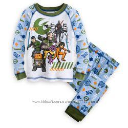 Пижамы DISNEY для мальчиков 4-5 лет