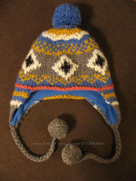 Яркая зимняя шапка Fatface 52-54