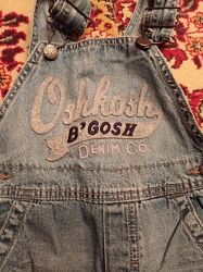 Джинсовый комбинезон для мальчика oshkosh