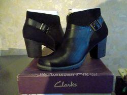 Ботинки Clarks Pause Cheer натуральная кожа