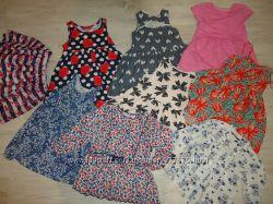Много брендовой одежки 1-3 года