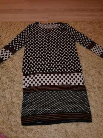 Платье-туника горох