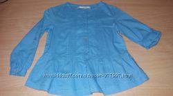 Рубашки - блузки для модницы на 104-110см рост состояние новых