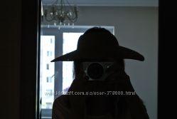 Соломенная шляпа крутейшая с открытым верхом