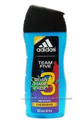 Гель для душа Adidas Team Five 3in1
