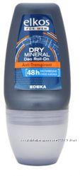 Антиперспирант Elkos Roll on Men Dry Mineral 48 мужской