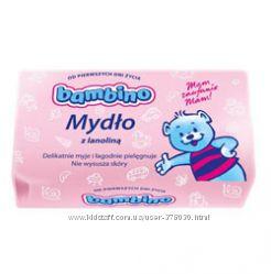 Детское мыло Bambino с ланолином  90 гр