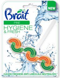 Стикер для унитаза Brait Pine 3in1