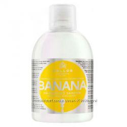 Шампунь Kallos Banana Multivitamin 1000 ml