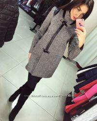 Женское демисезонное пальто VOL ANGE Диана-твид