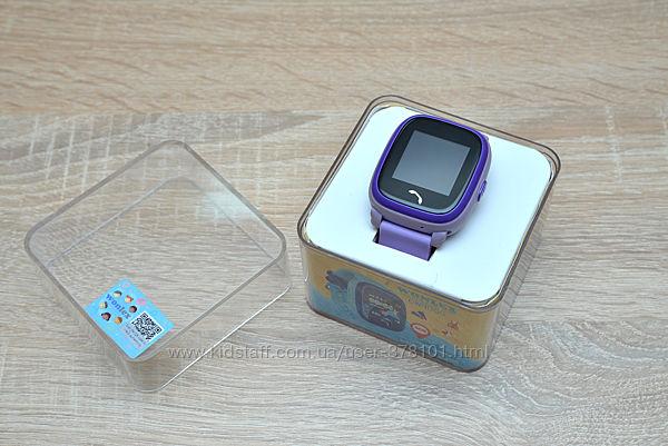 Продам детские умные водонепроницаемые часы с GPS Wonlex GW400S Purple