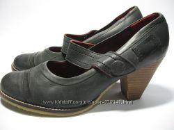 Фирменные туфли B&W. Кожа.