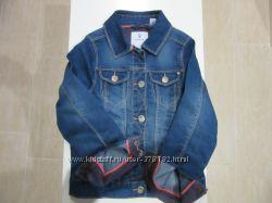 Новый джинсовый пиджак OKAIDI франция
