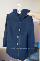 Женское демисезонное пальто VENEFIKA темно-синего цвета, р. S