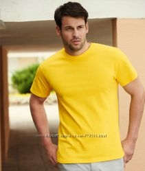 Мужские футболки HEAVY COTTON 100 хлопок от ТМ Fruit of thte loom