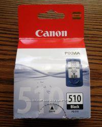 Черный картридж Canon PG-510