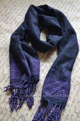 Теплый и красивый шарф