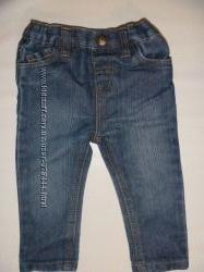 стильные джинсы на 9-12 мес
