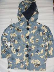 куртка-дождевик на х. б подкладке на 9-18 мес