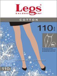 Продам теплые колготы Legs Cotton 110 den