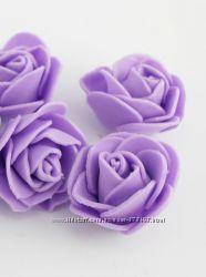 розочки из латекса для декора, расцветки