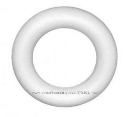 Пенопластовая заготовка бублик 27 см в диаметре