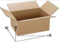 Ящик коробка из гофрокартона