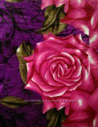 Пледы микрофибра разные расцветки, Евро размер