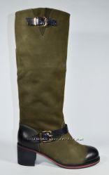 Cтильные теплые сапоги Basconi, зима, размеры