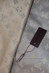 Стильный двусторонний палантин Louis Vuitton