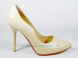 Женские кожаные туфли лодочки Magnori 35-40р