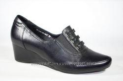Туфли кожаные удобные Meabalan 36-40р