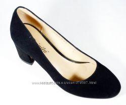 Туфли женские замшевые Mainila размеры