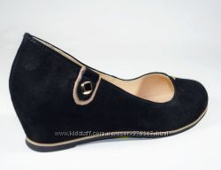 Кожаные качественные туфли Magnori новинка