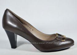 Кожаные качественные туфли  Clotilde размеры