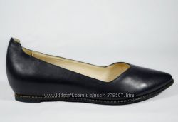 Стильные кожаные туфли Gotti 35. 36. 37р