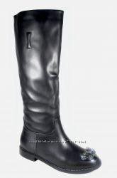 Новинка женские кожаные сапоги Verendina