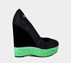 Шикарные замшевые туфли Mallanee 39р25см