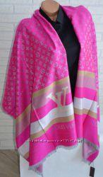 Яркий стильный шарф палантин Louis Vuitton
