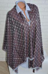 Стильный модный палантин шарф платок Louis Vuitton