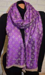 Модный яркий палантин шарф Louis Vuitton