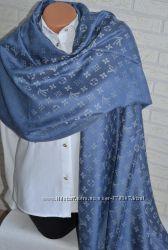 Стильный брендовый двусторонний шарф Louis Vuitton