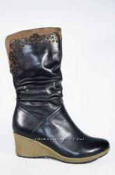 Ботинки зимние Tanssico натур кожа и мех