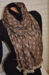 Двусторонний шарф Louis Vuitton стильный аксессуар