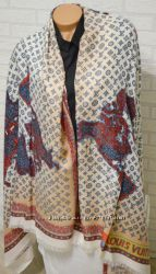 Палантин шарф Louis Vuitton  стильный аксессуар