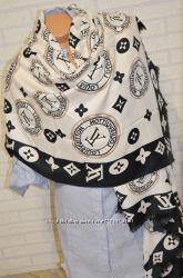 Красивый стильный палантиншарф  Louis Vuitton