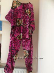 Женские пижамы, комплект, домашняя одежда