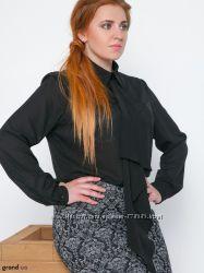 Блуза размер 52 чёрная