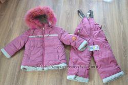 Зимний комбинезон, курточка и полукомбинезон