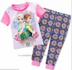 Пижамки с Анной и Эльзой в наличии